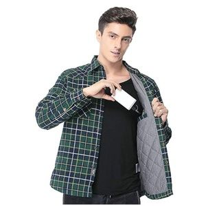✔NEW! Men's 🔥HEATED🔥 Flannel Jacket